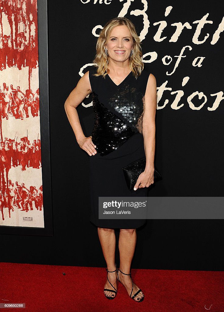 Actress Kim Dickens attends the premiere of 'The Birth of a Nation' at ArcLight Cinemas Cinerama Dome on September 21, 2016 in Hollywood, California.
