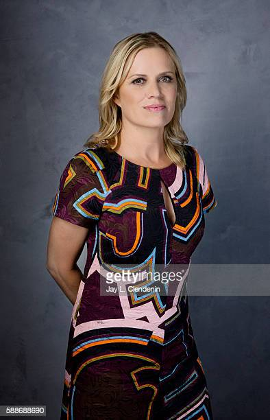 Actress Kim Dickens of 'Fear the Walking Dead' is photographed for Los Angeles Times at San Diego Comic Con on July 22 2016 in San Diego California