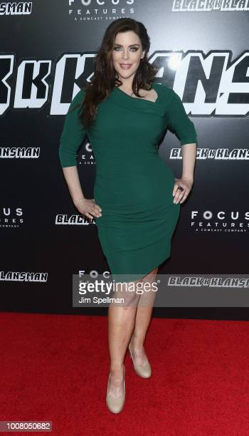 Actress Kim Director attends the 'BlacKkKlansman' New York premiere at Brooklyn Academy of Music on July 30 2018 in New York City