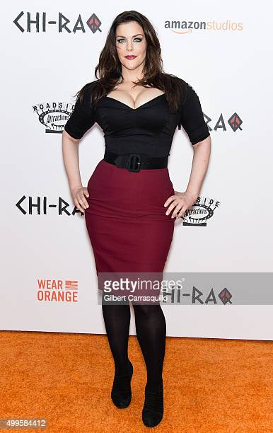 Actress Kim Director attends the 'CHIRAQ' New York Premiere at Ziegfeld Theater on December 1 2015 in New York City