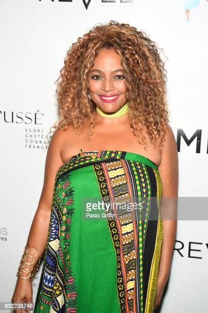 Actress Kim Fields at 'Survivor's Remorse' Season 4 Celebration and RonReaco Lee's Kontrol Homme Cover Release Party at The Marke on August 15 2017...