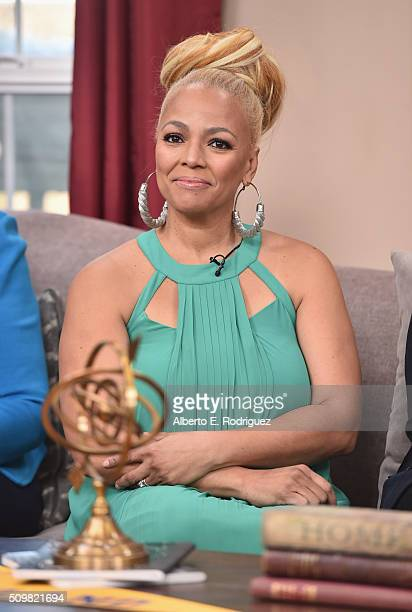Actress Kim Fields attends Hallmark's Home and Family Facts Of Life Reunion at Universal Studios Backlot on February 12 2016 in Universal City...