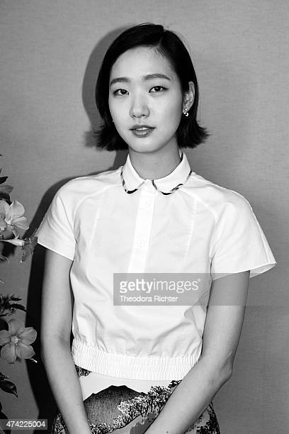 Actress Kim Goeun is photographed on May 15 2015 in Cannes France