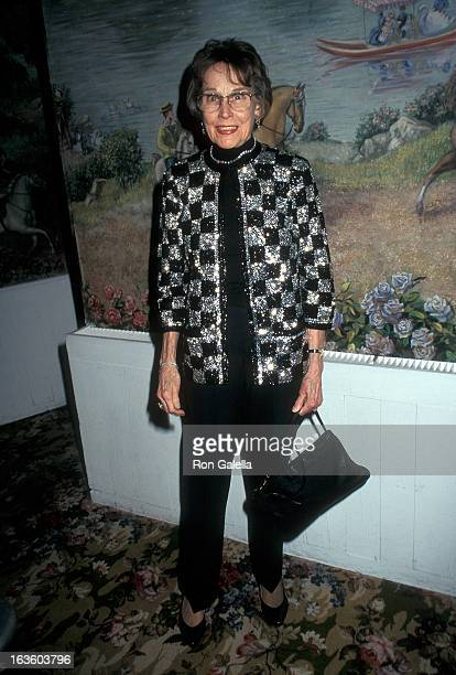 Actress Kim Hunter attends the 68th Annual National Board of Review of Motion Pictures Awards on February 24 1997 at the Tavern on the Green in New...