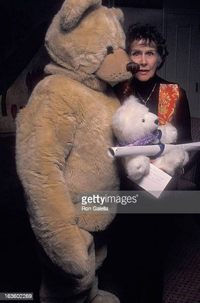 Actress Kim Hunter attends the Third Annual Greenwich House Celebrity Teddy Bear Auction to Benefit the Greenwich House Children's Saftey Project on...