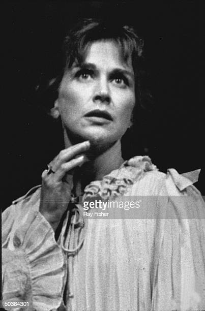 Actress Kim Hunter in a scene from Tennessee William's stage play Summer and Smoke