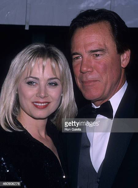 Actress Kim Johnston Ulrich and actor Ben Masters attend the 28th Annual Daytime Emmy Awards on May 18 2001 at Radio City Music Hall in New York City
