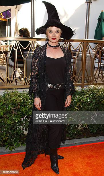 Actress Kim Johnston Ulrich arrives at Passions Halloween party held at Universal CityWalk on October 20th 2007 in Hollywood California