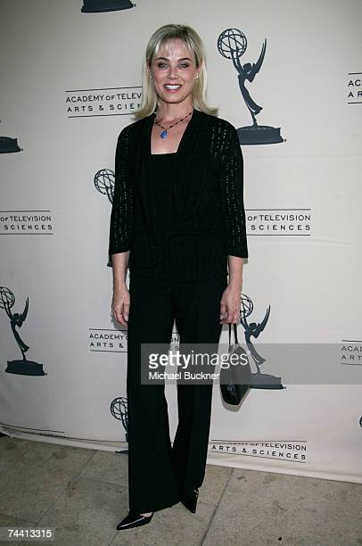 Actress Kim Johnston Ulrich arrives at the Academy of Television Arts and Sciences Daytime Emmy Nominee Reception at French 75's June 5 2007 in...