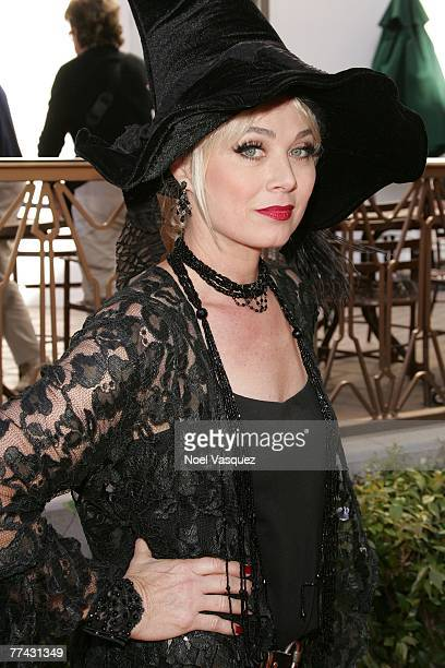 Actress Kim Johnston Ulrich arrives at the Passions Halloween Party at Universal City Walk on October 20 2007 in Universal City California