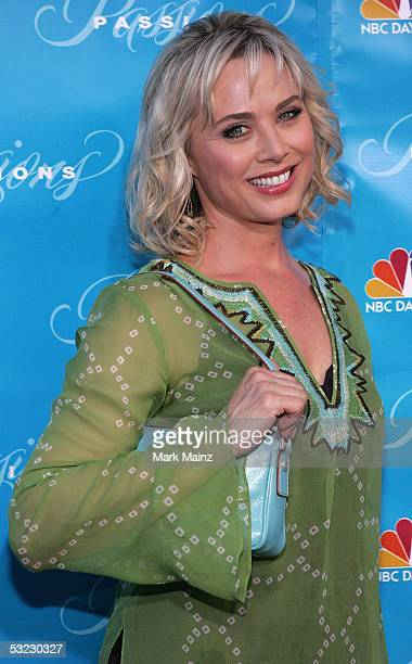 Actress Kim Johnston Ulrich attends the Premiere of Passions on July 12 2005 at Leows Cineplex in Universal Studios Citywalk California