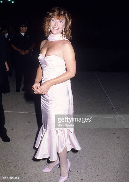 Actress Kim Lankford attends the 37th Annual Primetime Emmy Awards on September 22 1985 at the Pasadena Civic Auditorium in Pasadena California