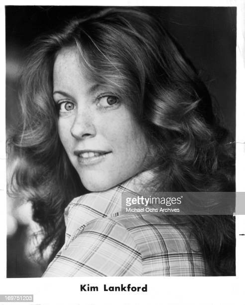 Actress Kim Lankford poses for a portrait in circa 1981