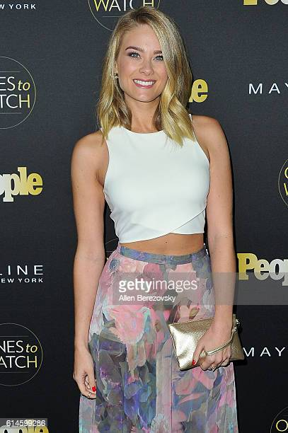 Actress Kim Matula attends People's Ones To Watch party at EP LP on October 13 2016 in West Hollywood California