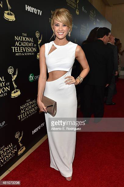 Actress Kim Matula attends The 41st Annual Daytime Emmy Awards at The Beverly Hilton Hotel on June 22 2014 in Beverly Hills California