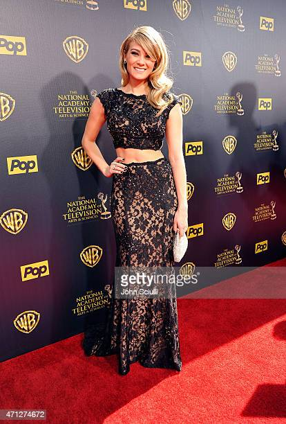 Actress Kim Matula attends The 42nd Annual Daytime Emmy Awards at Warner Bros Studios on April 26 2015 in Burbank California