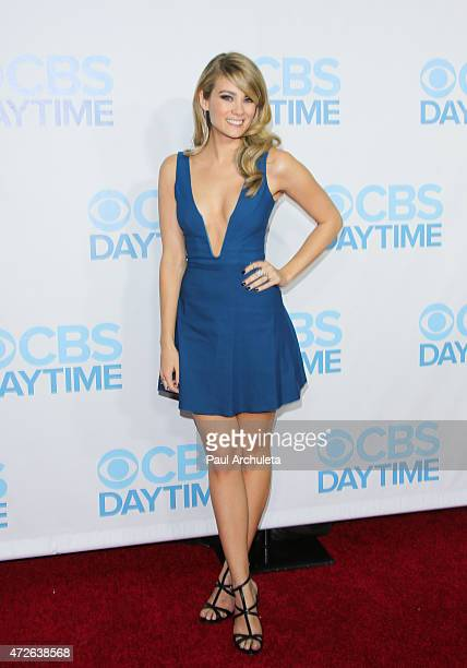 Actress Kim Matula attends the CBS Daytime Emmy after party at The Hollywood Athletic Club on April 26 2015 in Hollywood California