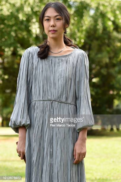 Actress Kim Minhee attends the 'Gangbyub Hotel' during the 71st Locarno Film Festival on August 9 2018 in Locarno Switzerland