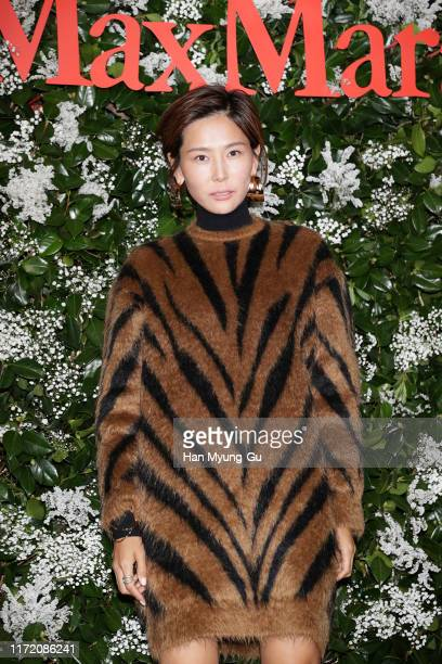 Actress Kim Na-Young attends the photocall for 'Max Mara' flagship store opening on September 03, 2019 in Seoul, South Korea.