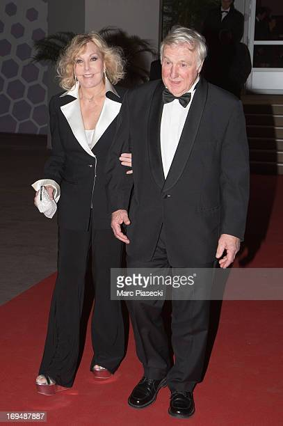 Actress Kim Novak and Robert Malloy are seen leaving the 'Agora' dinner during the 66th Annual Cannes Film Festival on May 25 2013 in Cannes France