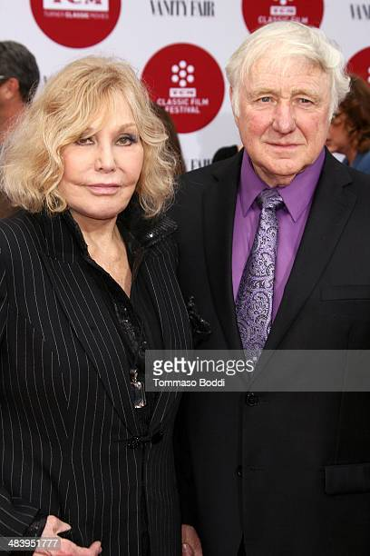 Actress Kim Novak and Robert Malloy attend the 2014 TCM Classic Film Festival opening night gala and world premiere of the restoration of Oklahoma...