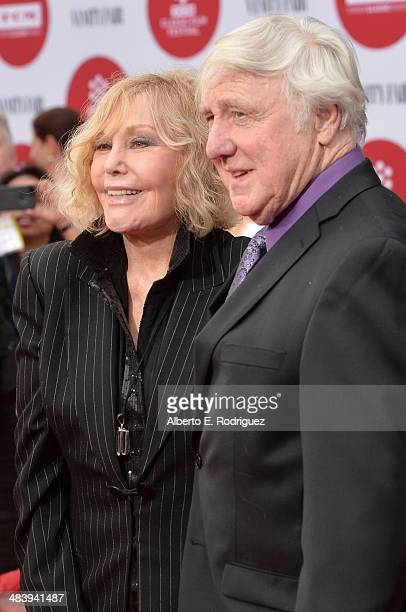 Actress Kim Novak and Robert Malloy attend the opening night gala screening of Oklahoma during the 2014 TCM Classic Film Festival at TCL Chinese...