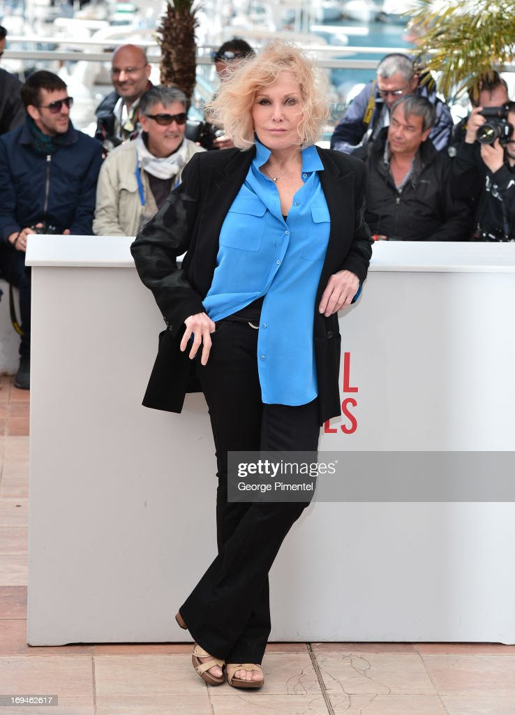 Actress Kim Novak attends the 'Hommage To Kim Novak' photocall during the 66th Annual Cannes Film Festival at the Palais des Festivals on May 25, 2013 in Cannes, France.