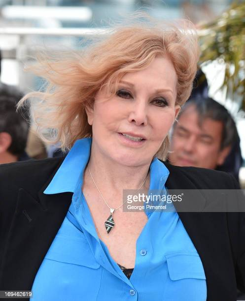Actress Kim Novak attends the 'Hommage To Kim Novak' photocall during the 66th Annual Cannes Film Festival at the Palais des Festivals on May 25 2013...