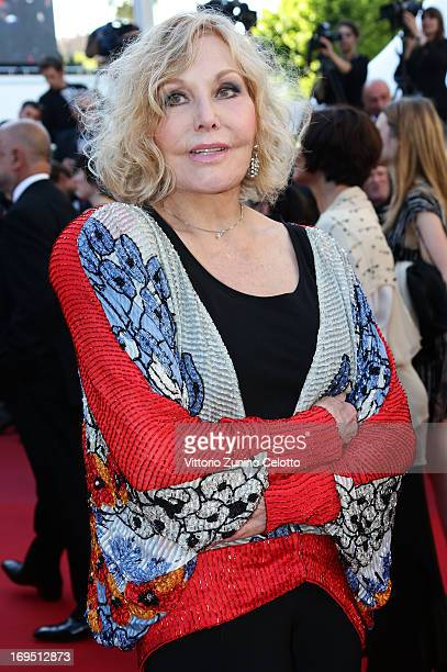 Actress Kim Novak attends the 'Zulu' Premiere and Closing Ceremony during the 66th Annual Cannes Film Festival at the Palais des Festivals on May 26,...