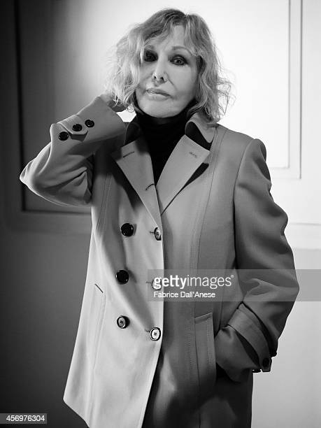 Actress Kim Novak is photographed for Vanity Fair Italy in Cannes France