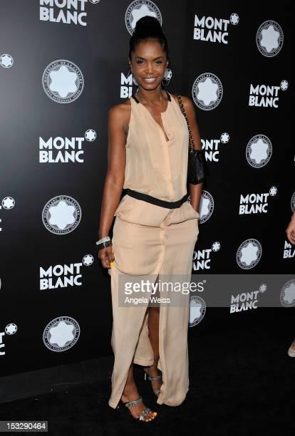 Actress Kim Porter arrives at Montblanc's 2012 Montblanc de la Culture Arts Patronage Award Ceremony honoring Quincy Jones at Chateau Marmont on...