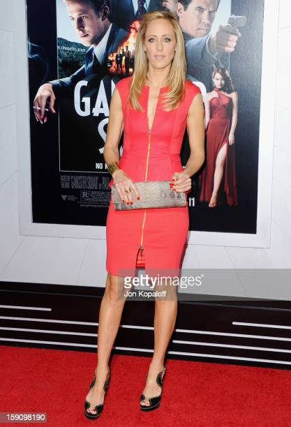 Actress Kim Raver arrives at the Los Angeles Premiere 'Gangster Squad' at Grauman's Chinese Theatre on January 7 2013 in Hollywood California