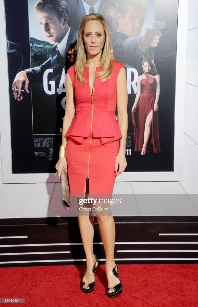Actress Kim Raver arrives at the Los Angeles premiere of 'Gangster Squad' at Grauman's Chinese Theatre on January 7, 2013 in Hollywood, California.