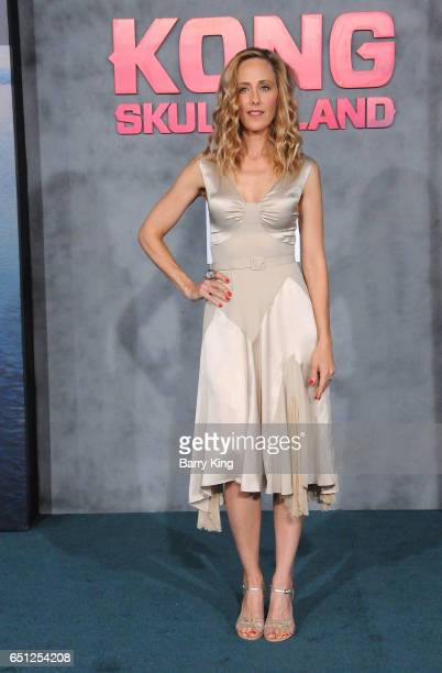 Actress Kim Raver arrives for the Premiere of Warner Bros Pictures' 'Kong Skull Island' at Dolby Theatre on March 8 2017 in Hollywood California