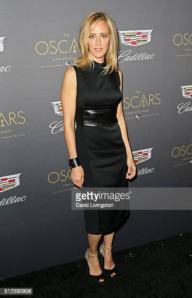 Actress Kim Raver attends Cadillac's PreOscar Event at Chateau Marmont on February 25 2016 in Los Angeles California