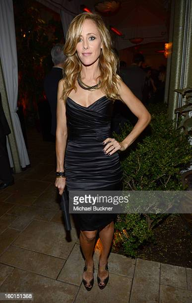 Actress Kim Raver attends the Entertainment Weekly PreSAG Party hosted by Essie and Audi held at Chateau Marmont on January 26 2013 in Los Angeles...
