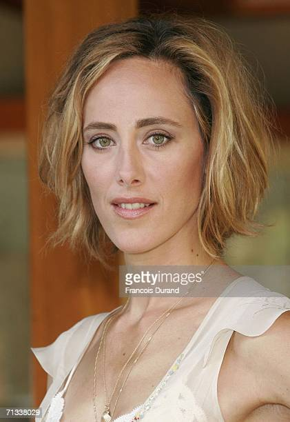 US actress Kim Raver attends the photocall of 24 during the 46th annual Monte Carlo Television Festival held at the Forum Grimaldi on June 30 2006 in...