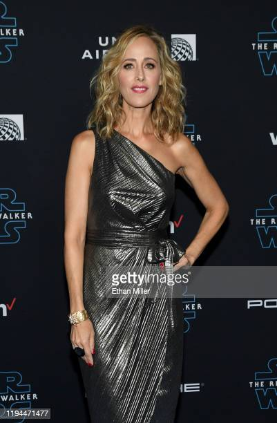 Actress Kim Raver attends the premiere of Disney's Star Wars The Rise of Skywalker on December 16 2019 in Hollywood California