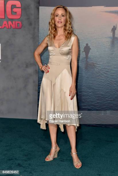 Actress Kim Raver attends the premiere of Warner Bros Pictures' Kong Skull Island at Dolby Theatre on March 8 2017 in Hollywood California