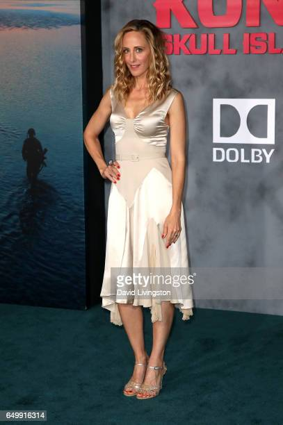 Actress Kim Raver attends the premiere of Warner Bros Pictures' 'Kong Skull Island' at Dolby Theatre on March 8 2017 in Hollywood California