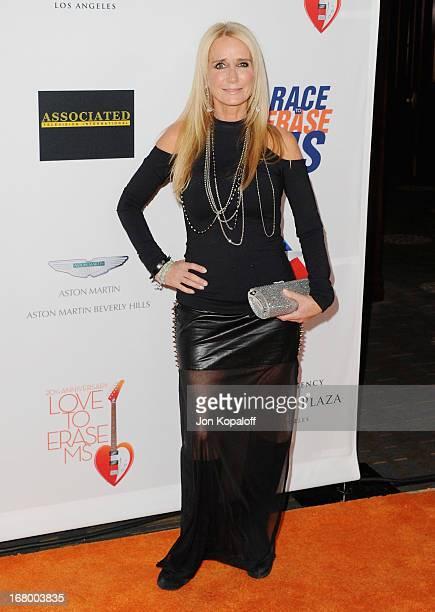 Actress Kim Richards arrives at the 20th Annual Race To Erase MS 'Love To Erase MS' Gala at the Hyatt Regency Century Plaza on May 3 2013 in Century...