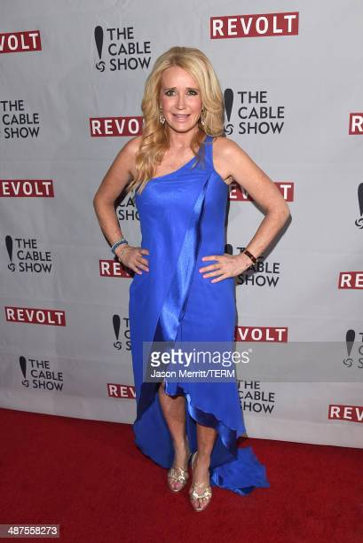 Actress Kim Richards attends the REVOLT NCTA Host VIP Gala For Talent Cable Execs at Belasco Theatre on April 30 2014 in Los Angeles California