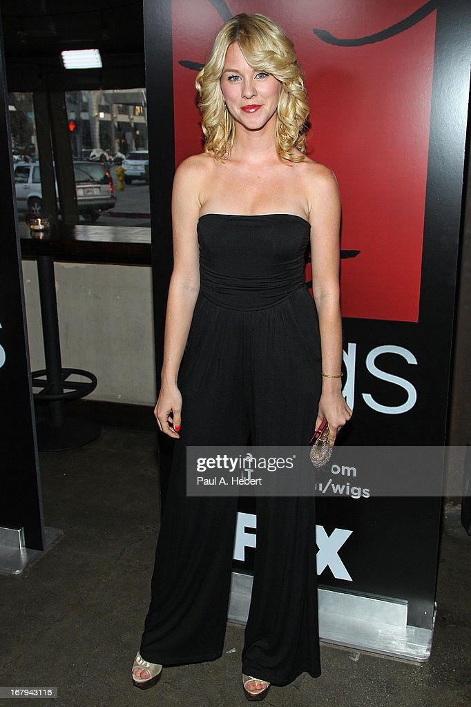 Actress Kim Shaw attends the 1 Year Anniversary of the WIGS Digital Channel at Akasha on May 2, 2013 in Culver City, California.