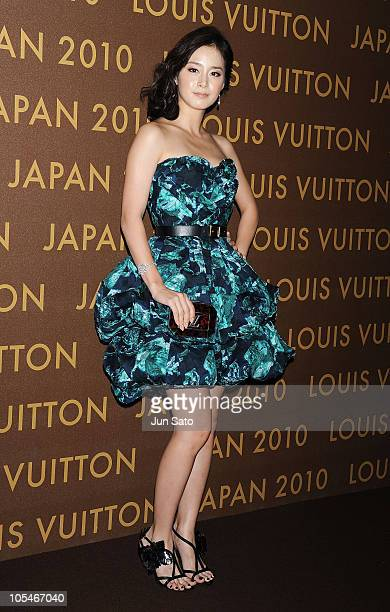 Actress Kim TaeHee attends the Louis Vuitton Leather and Craftsmanship event at Tabloid on October 14 2010 in Tokyo Japan