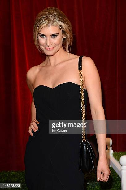 Actress Kim Tiddy attends The 2012 British Soap Awards at ITV Studios on April 28 2012 in London England