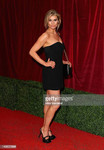 Actress Kim Tiddy attends the British Soap Awards at The London Television Centre on April 28 2012 in London England