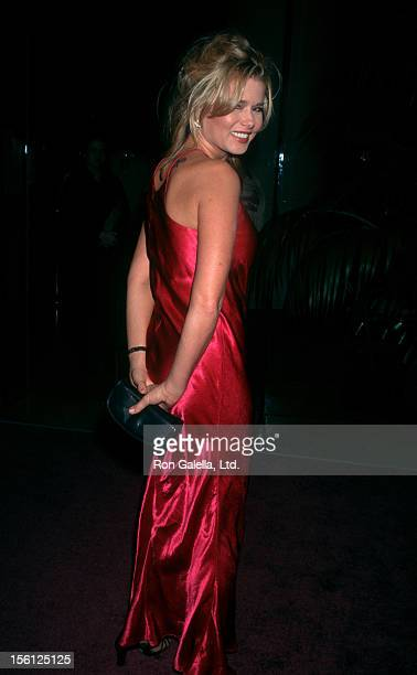 Actress Kimber Sissons attending 25th Annual American Film Institute Lifetime Achievement Awards Honoring Martin Scorcese on February 20 1997 at the...