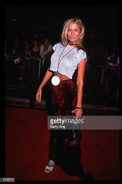 Actress Kimber Sissons attends the opening of Planet Hollywood September 17 1995 in Los Angeles CA The Beverly Hills branch had one of the most...
