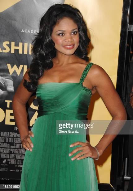 """Actress Kimberly Elise at the Weinstein Company premiere of """"The Great Debaters"""" at the Arclight Theater on December 11, 2007 in Hollywood,..."""
