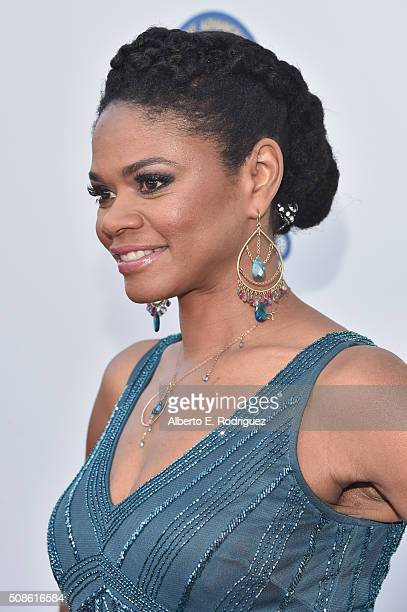 Actress Kimberly Elise attends the 47th NAACP Image Awards presented by TV One at Pasadena Civic Auditorium on February 5 2016 in Pasadena California